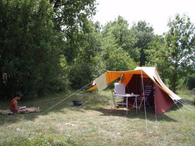 Emplacement de camping