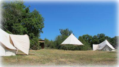 Les 2 tentes Sahariennes familiale